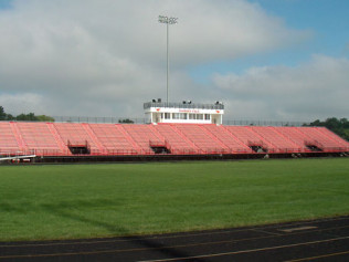 Elkhart High School - Stadium Bleachers