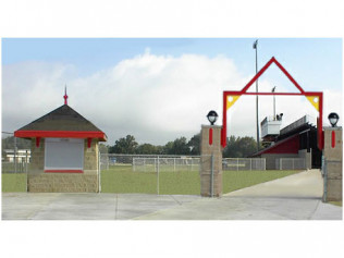 Elkhart High School - Stadium Entry Gate