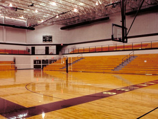Jimtown High School - Gymnasium Interior #1