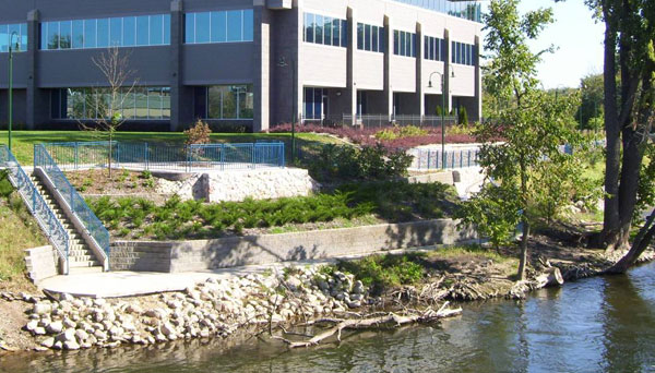 ELKHART RIVERWALK COMMONS/PHASE ONE - EAST BANK RIVERWALK